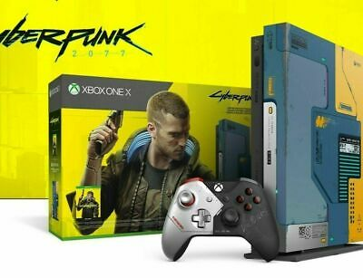 AU799 • Buy BRAND NEW XBox One X - Cyberpunk 2077 Limited Edition Console Bundle