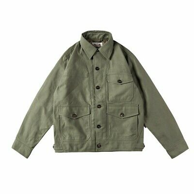 $145 • Buy WWII US Army M1942 Jacket 12.5OZ Cotton Military Casual Jacket Man