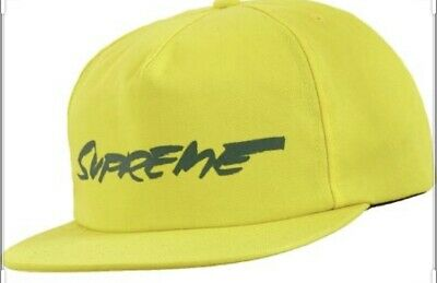 $ CDN61 • Buy SUPREME FUTURA LOGO 5-PANEL HAT Yellow. FW20 WEE K 1(IN HAND AUTHENTIC NEW)