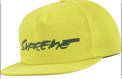 $ CDN79 • Buy SUPREME FUTURA LOGO 5-PANEL HAT Yellow. FW20 WEE K 1(IN HAND AUTHENTIC NEW)