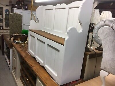 Hall Bench,Pew/Shoe /Porch Bench With Seat Storage,Furniture Showroom Whitstable • 329£