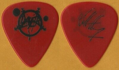 $ CDN660.53 • Buy Slayer 1987 Reign In Blood Concert Tour Jeff Hanneman Vintage Rare Guitar Pick