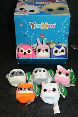 Aurora YooHoo Stackies Plush Soft Toy Animals - Size 2  -  Choice - New • 2.71£
