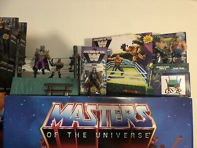 $449 • Buy Masters Of The WWE Universe Waves 1 2 3 & Ring MOTU WWF Also Includes The3 Rings
