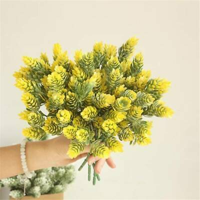 Christmas Artificial Branches Pine Berry Cone Fruit Fake Flower Home Decor YU • 3.61£