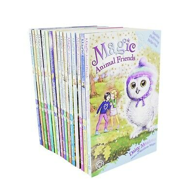 Magic Animal Friends 16 Books Children Collection Paperback Set By Daisy Meadows • 24.95£