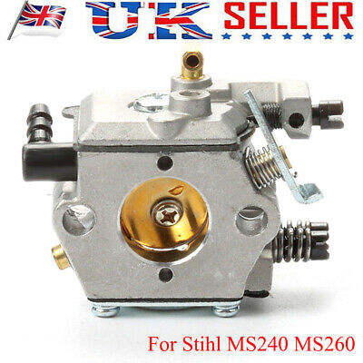 Carburetor Carb Compatible For Stihl 024 026 MS240 MS260 Replace#11211200611 UK • 10.45£