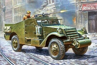 $22.95 • Buy Zvezda  1/35 M3 Armored Personnel Scout Car ZVE3519