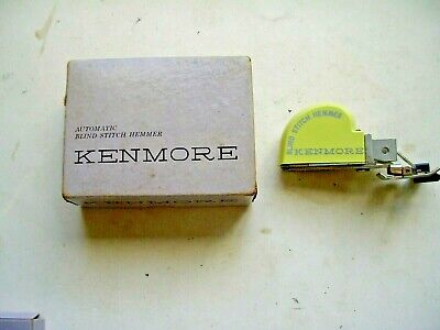 £14.55 • Buy Sears KENMORE  Sewing Automatic Blind  STITCH HEMMER With Original Box