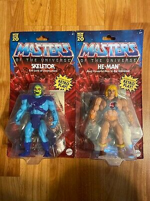 $47 • Buy Masters Of The Universe Origins New For 20 Skeletor He-Man