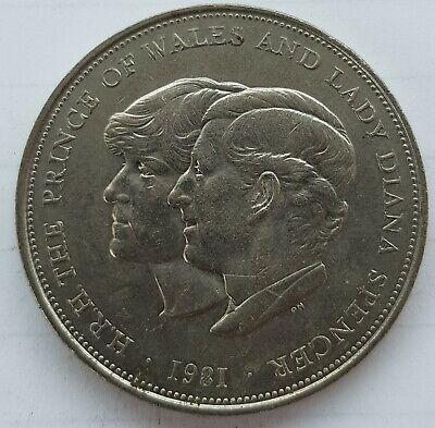 Old Coin 1981 Prince Charles And Lady Diana Spencer Commemorative Crown  • 4.99£