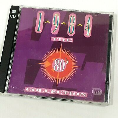 TIME LIFE 1984 THE 80's DOUBLE CD COLLECTION WHAM DURAN SPANDAU CLASSIC POP 1993 • 4.99£