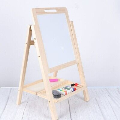 Children Magnetic Drawing Board Easel Double Sided Folding Kids Doodle Sketchpad • 14.59£