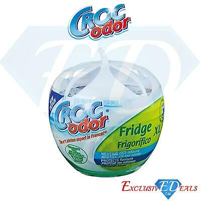 Croc Odor Fridge Deo XL Deodoriser Neutralise Smell Odour Freshener 140g • 4.99£