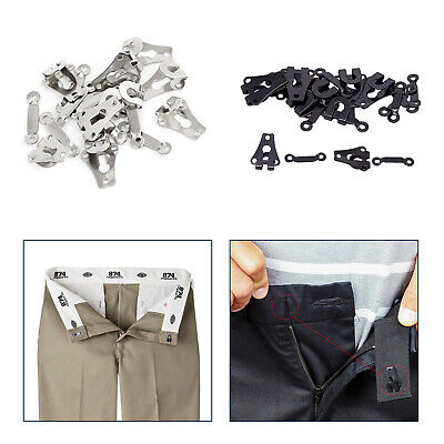 £2.49 • Buy Premium Hook And Bar Fasteners 2 Part Sets Trouser Skirt And Tunic Fasteners