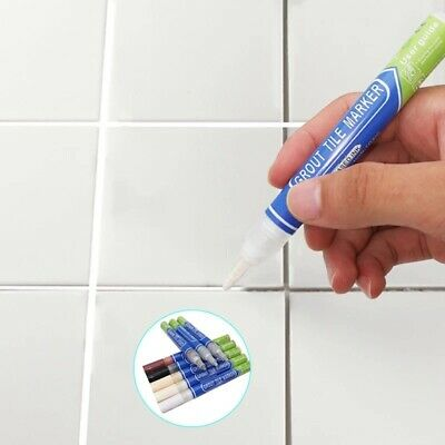 Anti Mould Home Tile Repair Waterproof Non Toxic Refill Grout Pen Instant Marker • 4.15£