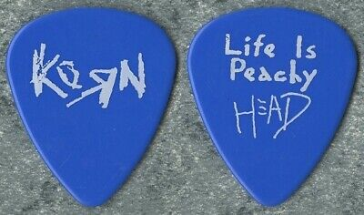 $ CDN231.14 • Buy Korn 1996 Life Is Peachy Concert Tour Issued Brian  Head  Welch Guitar Pick