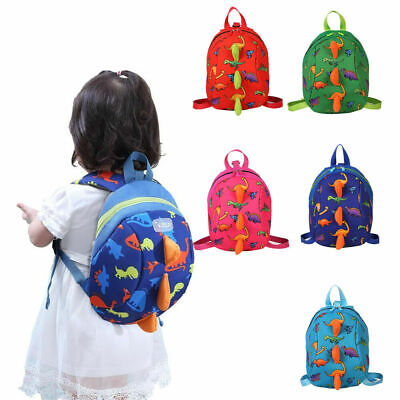Baby Toddler Backpack Kids Dinosaur Safety Strap Harness With Reins Cartoon Bags • 3.85£