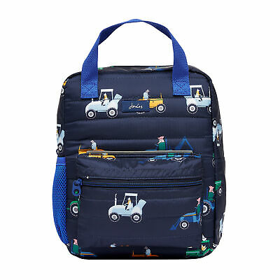 AU60.52 • Buy Joules Venture Boys Rucksack - Navy Tractors All Sizes