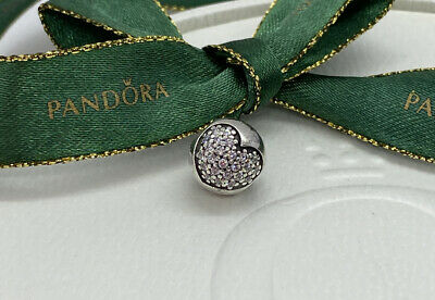 AU31 • Buy Pandora Clear CZ Sparkling Heart Pave Clip Charm #791053CZ Authentic Ale 925