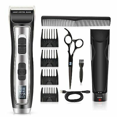 AU37.04 • Buy Kilison Cordless Hair Clippers, Rechargeable Cordless Beard Trimmer Hair Trimmer