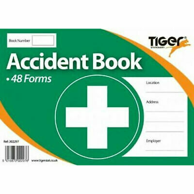 £3.09 • Buy Accident Book - Report Office Health Record 48 Forms First Aid School Injury
