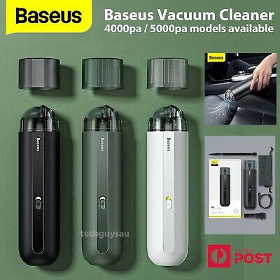AU62.79 • Buy Baseus A2 5000Pa Mini Car Vacuum Cleaner Wireless Strong Suction Portable