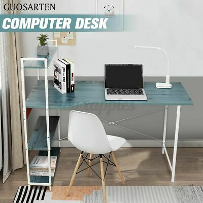 AU125.55 • Buy 4 Tier Bookshelf Computer Desk Table Laptop Display Study Writing Home Office