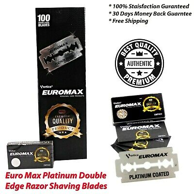 AU14.99 • Buy Single Blade Razor Euro Max Platinum Double Edge Razor Shaving Blade Refills