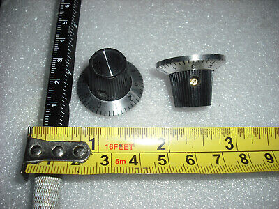 Mk1 Sound City Knob Silver Numbered Lined Amp Amplifier Control Lined Graduated  • 2.50£