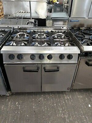 6 Burner NAT Gas Oven Commercial Falcon Six Burner Cooker Heavy Duty Catering  • 749£