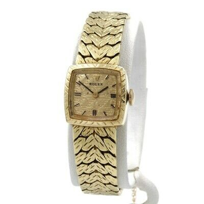 $ CDN1581.84 • Buy Vintage Ladies Rolex Precision 1400 17jewels 14k Yellow Gold Wrist Watch  #8708