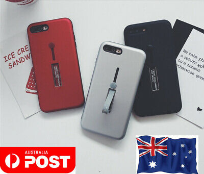AU3.99 • Buy For Apple Iphone 6/7/8 X Case Cover With Hold& Screen Protector Buy One Get Two