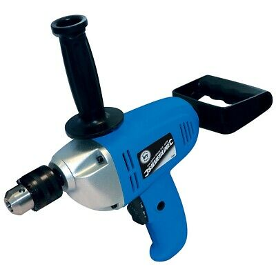 Silverline 600w Electric Low Speed Mixing Drill Plaster Paint Mortar Power Mixer • 45.30£