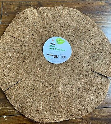 £10.99 • Buy New Hanging Basket Liners Coco Fibre 35cm  14   Choose Your Quantity 2 Or 4