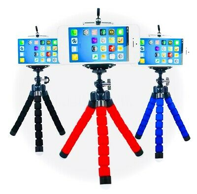 AU6.96 • Buy AU Flexible Mini Octopus Tripod Bracket Holder Mount For IPhone Cell Phone Crane