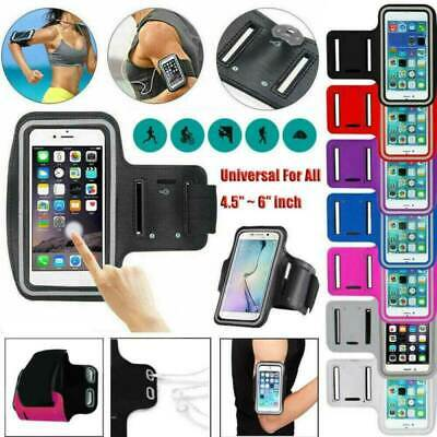 AU19.99 • Buy Armband Holder Arm Band Case Gym Running Pouch Exercise Bag For Samsung Apple