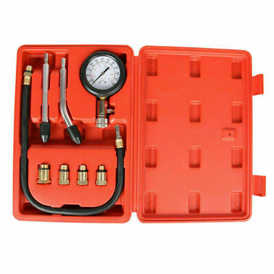 AU22.99 • Buy Engine Compression Test Petrol Tester Kit Set For Automotive Car Brass Tool Au
