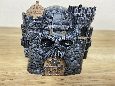 $34.95 • Buy Custom MOTU Eternia Minis Masters Of The Universe Castle Gray Skull