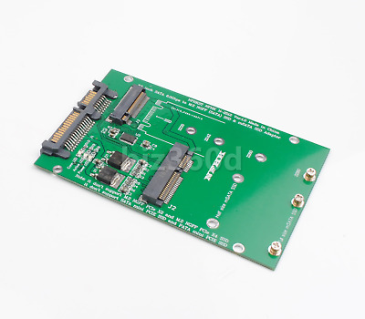 AU18 • Buy MSATA To SATA NGFF M.2 To SATA3 Adapter Card SSD Solid State Disk Drive AU Ship