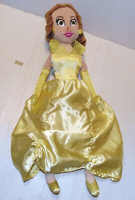 Disney Store 20  Beauty And The Beast Belle Soft Toy Plush Doll Princess • 7.99£