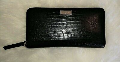 $ CDN95 • Buy Kate Spade New York Black Leather Zip Around Continental Wallet - $245
