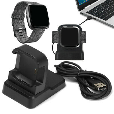 $ CDN13.44 • Buy Cord Station Adapter Cradle Charger Holder For Fitbit Versa&Versa 2 Lite