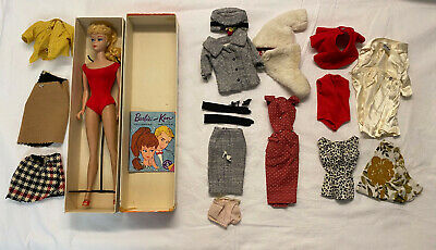 $ CDN362.51 • Buy Vintage Barbie Blonde Ponytail With Box, Booklet & Outfits