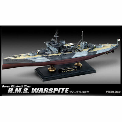 £46.90 • Buy Academy 1/350 Queen Elizabeth Class H.M.S Warspit Hobby Plastic Model Kit #14105