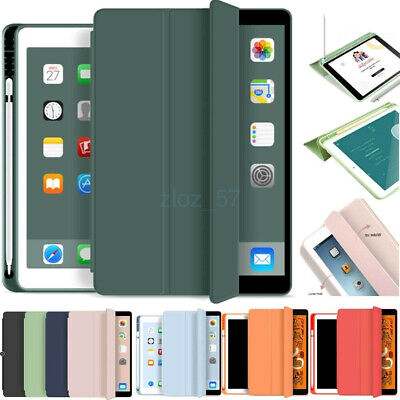 AU39.89 • Buy For IPad 10.2  7th Gen 2019 6th 5th Pro Leather Case Cover With Pencil Holder AU