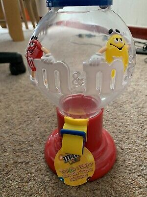 M & M Chocolate Candy Dispenser Used But In Good Condition • 3.80£