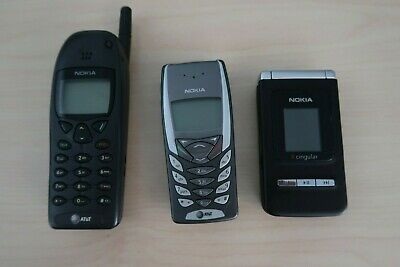 $ CDN164.78 • Buy Vintage Lot Of 3 Nokia Cell Phones Untested
