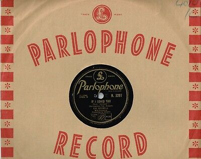£7.95 • Buy Eve Boswell Rarer 78 - If I Loved You - Bewitched - Parlophone - Vg+ Condition