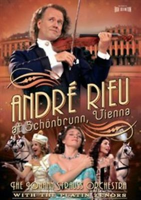 André Rieu At Schoenbrunn Vienna DVD    -BRAND NEW & SEALED-        9 • 4.99£